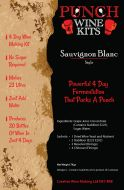 Punch Sauvignon Blanc 30 Bottle Wine Kit