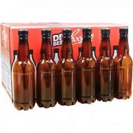 Coopers PET Plastic Amber Beer Bottles 500ml With Screw Caps