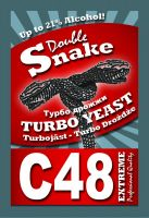 Double Snake C48 Turbo Yeast