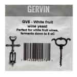 Gervin GV5 - White Fruit Wine Yeast