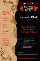 Punch Zinfandel Blush 30 Bottle Wine Kit