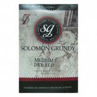 Solomon Grundy 30 Bottle Medium Dry Red
