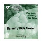 Youngs Dessert/High Alcohol Wine Yeast Sachet 5g