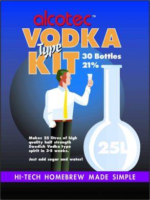 Alcotec Vodka Kit 25 Litres