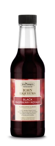 Icon Liqueurs Black Raspberry Royale Flavouring