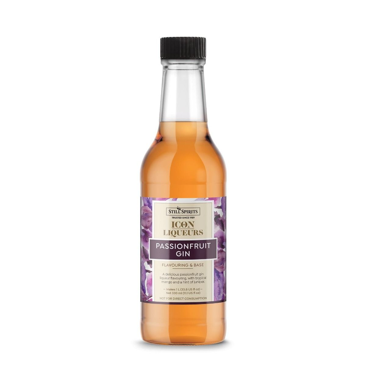 Icon Liqueurs Passion Fruit Gin Flavouring