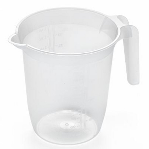Plastic Jug 1 Litre (With Scale)