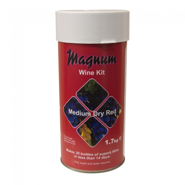 Magnum Medium Dry Red 30 Bottle