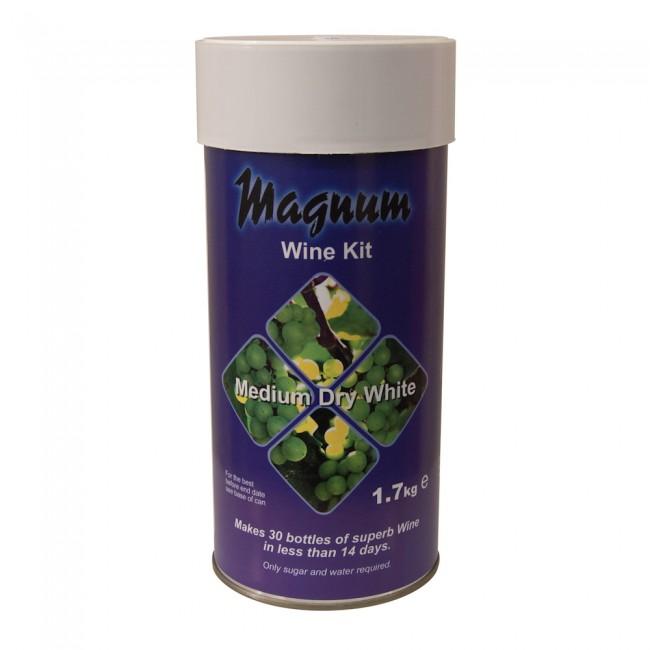 Magnum Medium Dry White 30 Bottle
