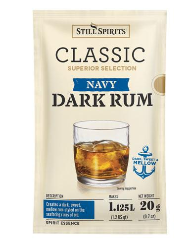 Still Spirits Classic Superior Selection Navy Dark Rum (Twin Pack)