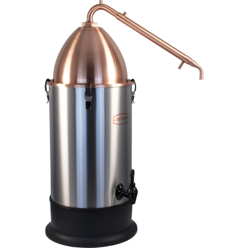 T500 Boiler Alembic Copper Dome And Alembic Copper Condensor