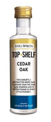 Still Spirits Top Shelf Cedar Oak 50ml