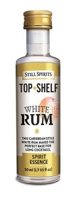 Still Spirits Top Shelf White Rum 50ml