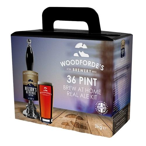 Woodfordes Nelsons Revenge Kit 36 Pint Beer Kit