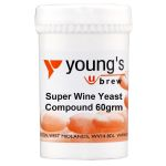 Youngs Super Wine Yeast Compound 60g (10 Gal)