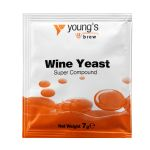 Youngs Super Wine Yeast Compound Sachet 7g (1 Gal)