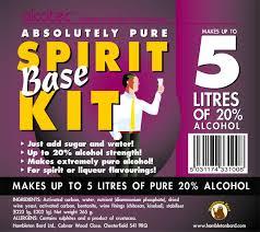 Alcotec Spirit Kit 5 Litres