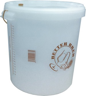 25 Litre Brewing Bucket with Lid