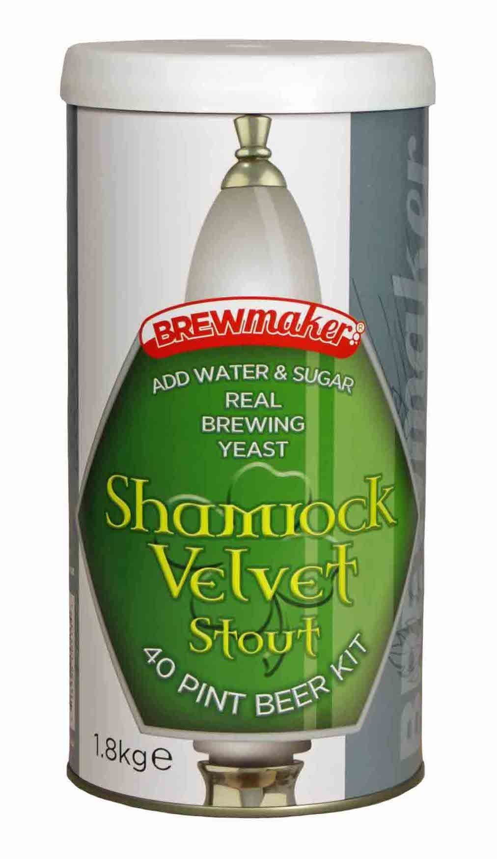 Brewmaker Irish Velvet Stout 1.8KG