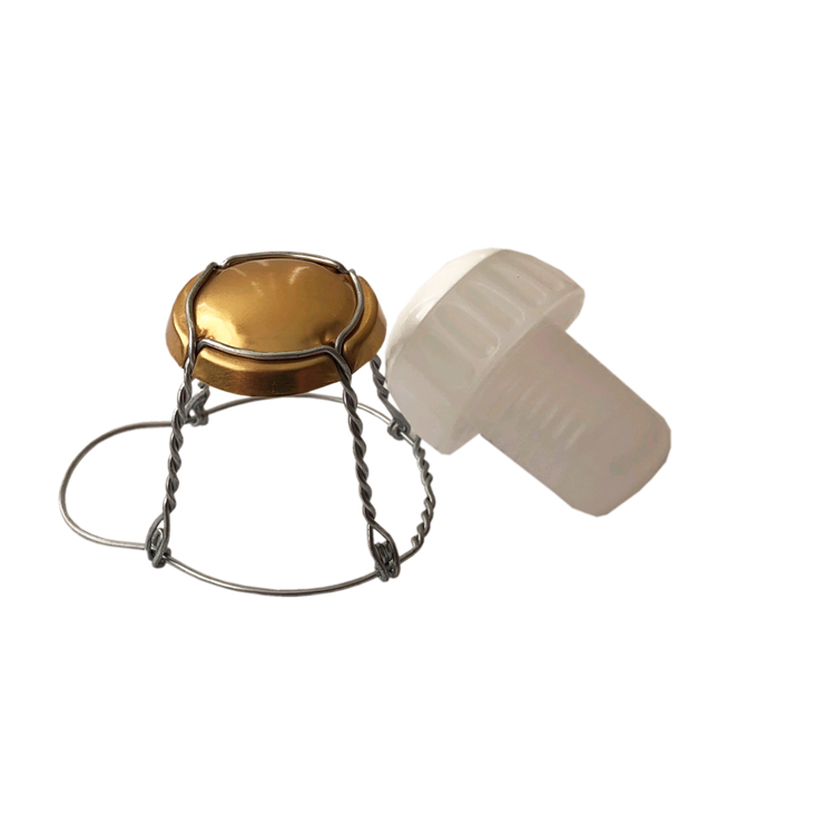 Champagne Cages And Stoppers