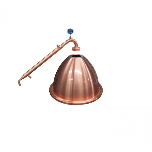 Combined Alembic Copper Condensor And Dome