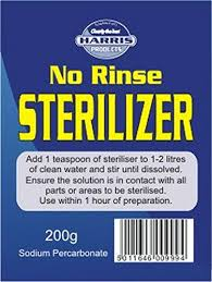 Harris No Rinse Sterilizer 200g