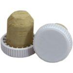 Plastic Topped Corks 150s White