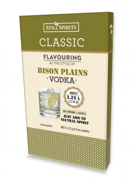 Still Spirits Classic Bison Plains Vodka (Twin Pack)