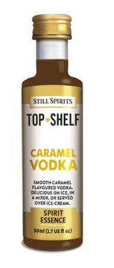 Still Spirits Top Shelf Caramel Vodka 50ml