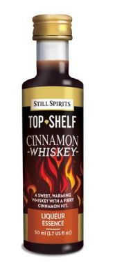 Still Spirits Top Shelf Cinnamon Whiskey 50ml