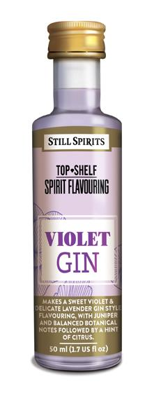 Top Shelf Still Spirits Violet Gin 50ml