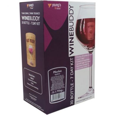 Wine Buddy 30 Bottle Merlot