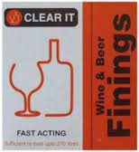 Youngs CLEAR IT Wine And Beer Finning 135/270 Ltrs