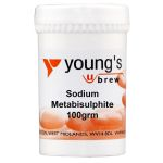 Youngs Sodium Metabisulphate 100g